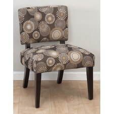 Bella Fabric Slipper Chair