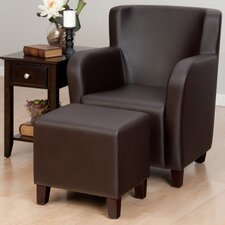Monaco Chair and Ottoman