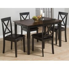 <strong>Jofran</strong> Burly 5 Piece Dining Table Set