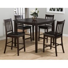 <strong>Jofran</strong> Marin Country Merlot 5 Piece Pub Table Set