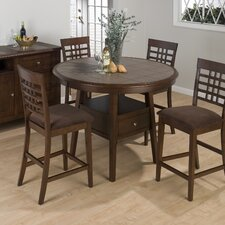 <strong>Jofran</strong> 5 Piece Counter Height Dining Set