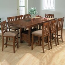 <strong>Jofran</strong> Belmont 7 Piece Counter Height Dining Set