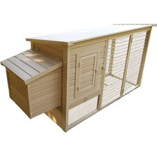 Chicken Coop with Boxes