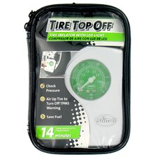 Slime Tire Top Off Compressor and Inflator with LED Light