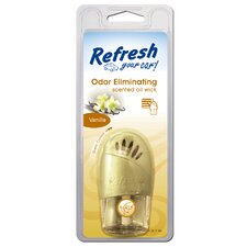 Refresh Your Car Vanilla Scented Wick Odor Eliminator