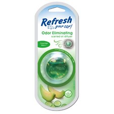 Refresh Your Car Cucumber Melon Odor Eliminator