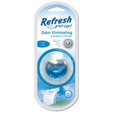 Refresh Your Car Fresh Linen Odor Eliminator - 0.17-oz. (Set of 4)
