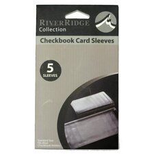 Checkbook Card Sleeves (Set of 5)