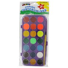 Watercolor 21 Count (Set of 6)