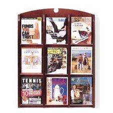 Traditional 9 Pocket Display Rack