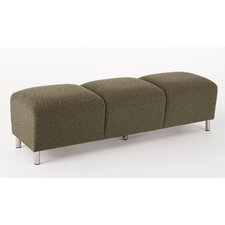 Ravenna Series Upholstered Three Seat Bench
