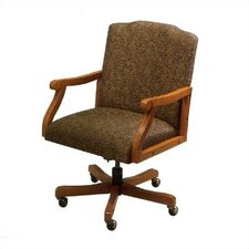 <strong>Lesro</strong> Madison Series Low-Back Executive Chair with Arms