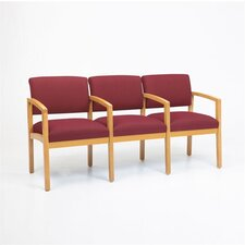 Lenox Three Seats with Wood Leg