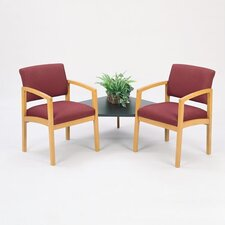 Lenox Tandem Chair with Connecting Table