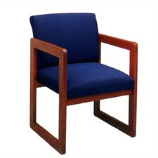 <strong>Lesro</strong> Classic Armless Guest Chair with Full Back