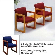 Classic Two Chairs with Center Table