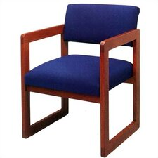 <strong>Lesro</strong> Classic Guest Chair with Open Back