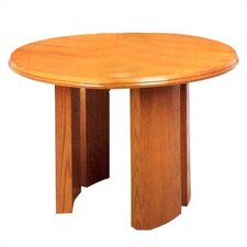 Contemporary Series Round Gathering Table (Split Curved Panel Base)