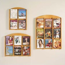Transitional Series Pocket Literature Rack