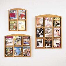 Contemporary Series Pocket Literature Rack