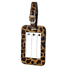 <strong>Franzus</strong> Leopard Luggage Tag