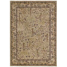 Home Nylon Beige Monaco Palms Rug