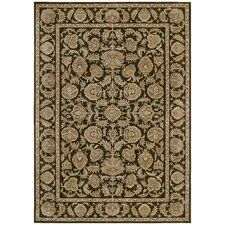 Home Nylon Dark Brown Tropical Isle Rug