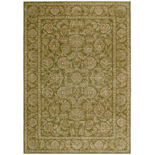 Home Nylon Light Green Tropical Isle Rug