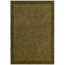 <strong>Tommy Bahama Rugs</strong> Home Nylon Ocean Seaspray Damask Rug