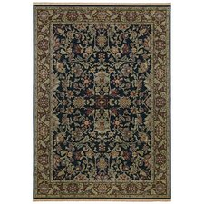 Home Nylon Onyx Island Vines Rug
