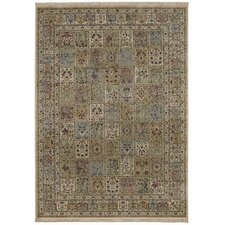 Home Nylon Light Multi Paradise Tiles Rug