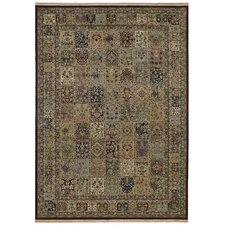 Home Nylon Multi Paradise Tiles Rug