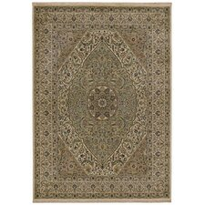 <strong>Tommy Bahama Rugs</strong> Home Nylon Beige Royal Retreat Rug