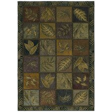 Home Olefin Squared Away Novelty Rug