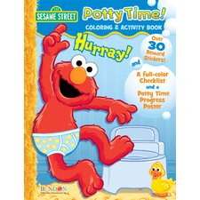 <strong>Bendon Publishing Intl</strong> Elmo Potty Training Activity Book