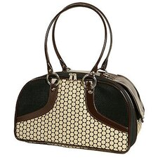 Classic Roxy Pet Carrier in Noir Dots