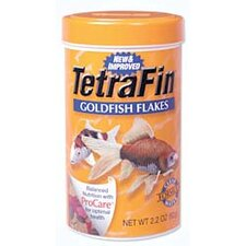 2.2 Oz. TetraFin Goldfish Flakes