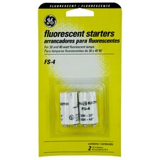 Fluorescent Starters (Set of 2)