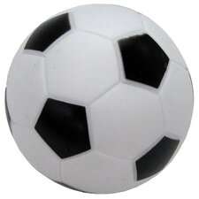 Soccer Ball Dog Toy with Squeaker