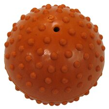 Dimple Ball Dog Toy with Bell