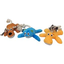 Assorted Characters Plush Dog Toy