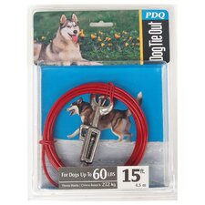 Large Dog Cable Tie Out