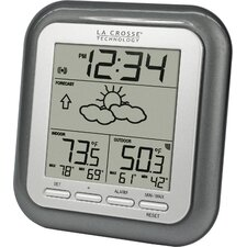 Wireless Weather Station Wall Clock