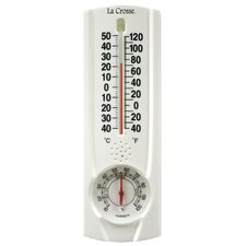 <strong>Lacrosse Technology</strong> Tube Thermometer with Hygrometer and Key Hider