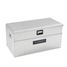 Wide Flush Mount Single Lid Truck Tool Box