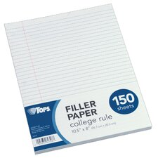 <strong>Moore Wallace Na Dba Tops</strong> College Ruled Filler Paper (150 Count)