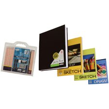 18 Piece Value Pack Paper and Pencil Set
