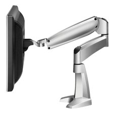<strong>Workrite Ergonomics</strong> Ergonomics Poise Single Monitor Arm with C-Clamp and Grommet Mount