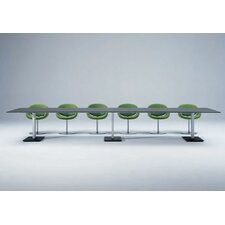 <strong>Artifort</strong> Bridge Rectangle Bipartite Table by Arnold Merckx