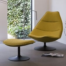 <strong>Artifort</strong> 585 Chair and Ottoman by Geoffrey Harcourt